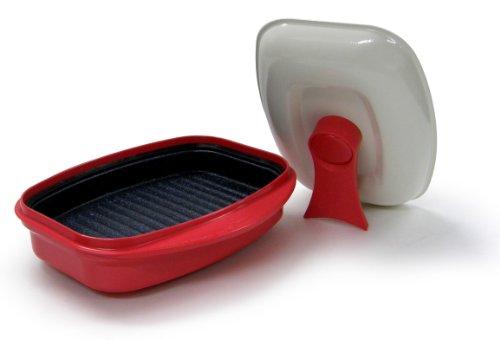 Iu Rangemate Grill Pan Microwave Cooking Steak,Fish,Meats Ceramic Coating Pans