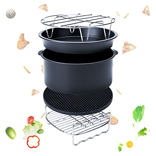 Brand Power Airfryer XL 5 3 Quart With Accessory Kit