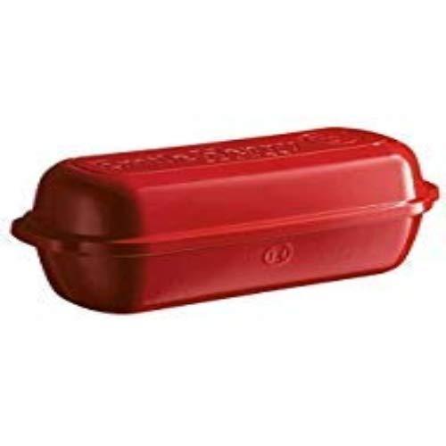 Emile Henry 345503 Burgundy Italian Bread Baker 13 4 X 5