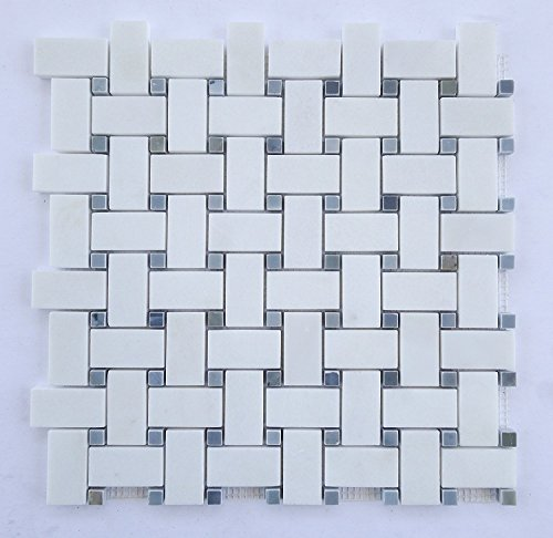 Top 10 Basketweave Tile Floor Marble Tiles Tookcook
